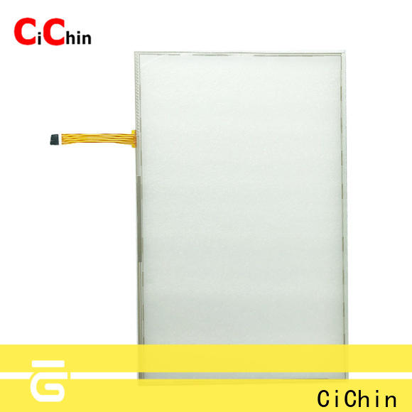 CiChin resistive touch sensor from China used in financial industry