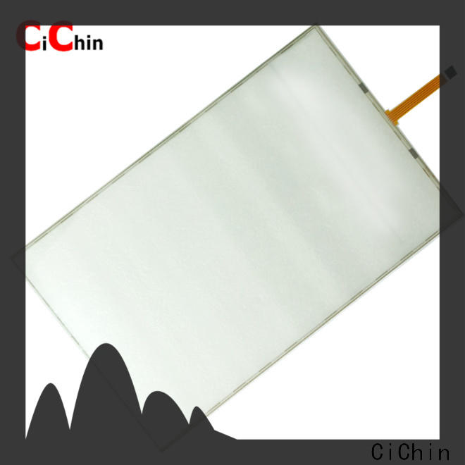 CiChin best price resistive touch screen panel manufacturer for transportation