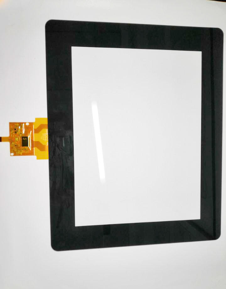 10.4-INCH–MULTI-TOUCH-SCREEN-CUSTOMIZED-ITEM-WITH-BLACK-COVER-LENS-ANTI REFLECTIVE-TREATMENT-GG –STRUCTURE