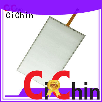 CiChin hot-sale resistive touch screen panel best manufacturer used in consumer electronics