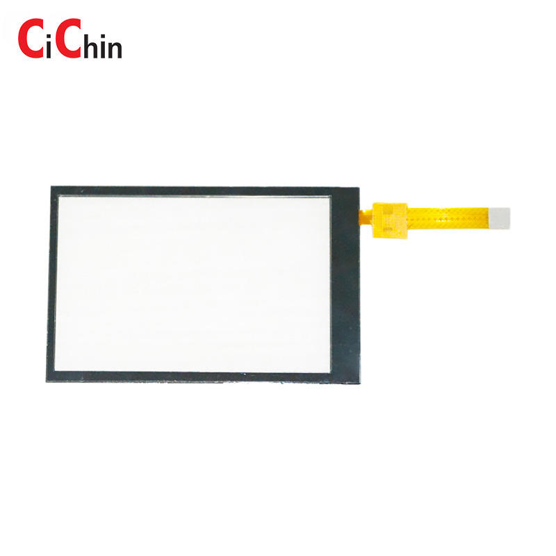 Small projected capacitive touch screen panel, I2C interface with multi touch