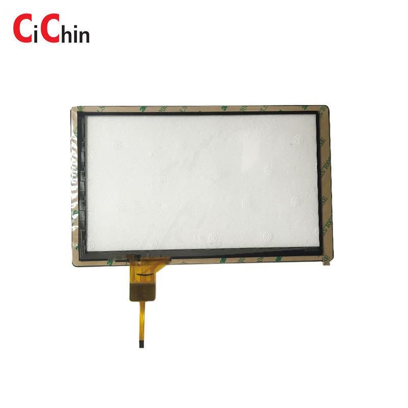 Handrest monitor touch screen, small advertising touch screen, capacitive touch film