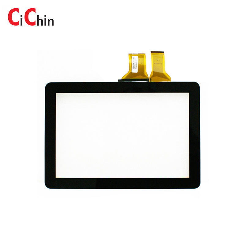 10.1 inch projected capacitive touch screen overlay kits, high quality, industrial monitor touch panel