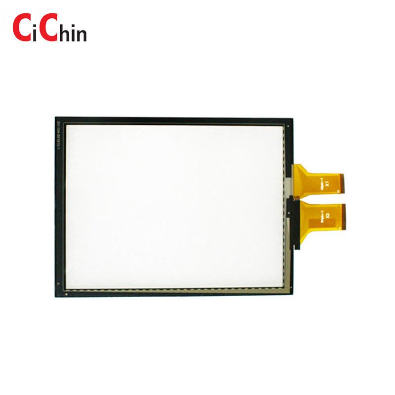 Anti-glare pojected capacitive touch screen overlay, 10.4 inch with USB/RS232 interface, multi touch screen