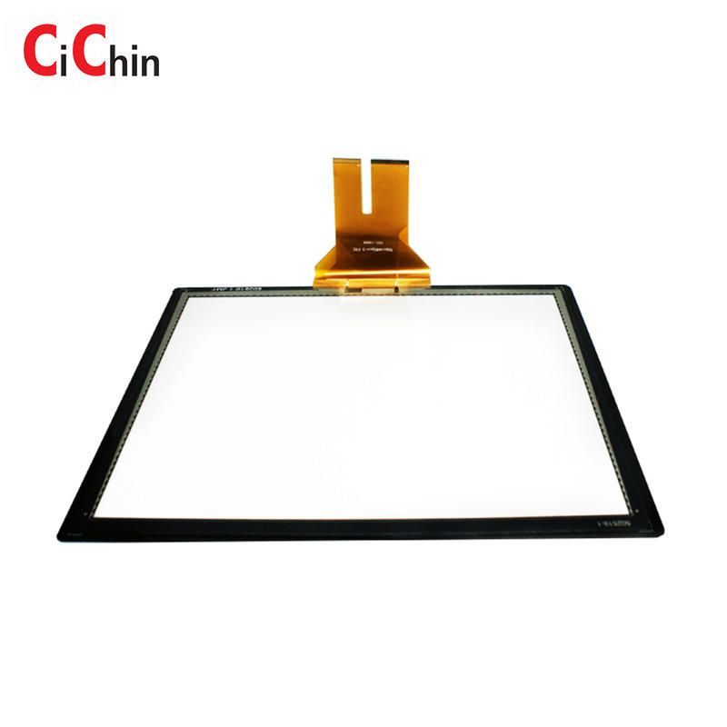 Pcap touch panel, 19 inch tempered glass touch, outdoor water resistance touch screen