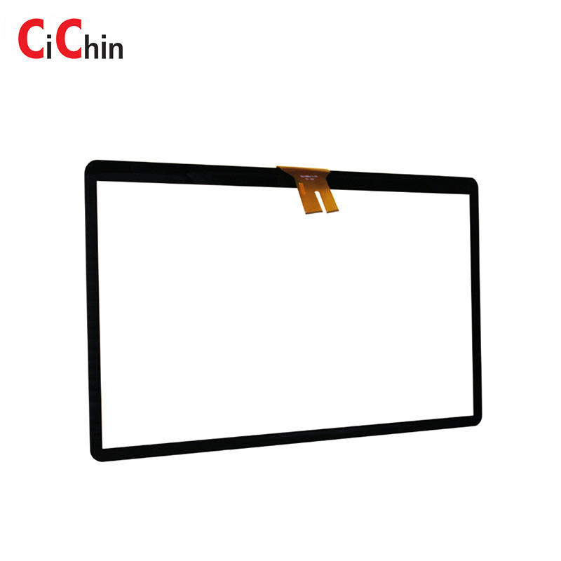 43 inch capacitive touch screen module, customize cover lens touch screen, anti-vandal projective touch screen