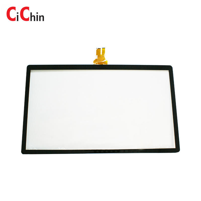 Interactive display screen touch, 55 inch capacitive touch screen module, custom dimension,curve touch screen