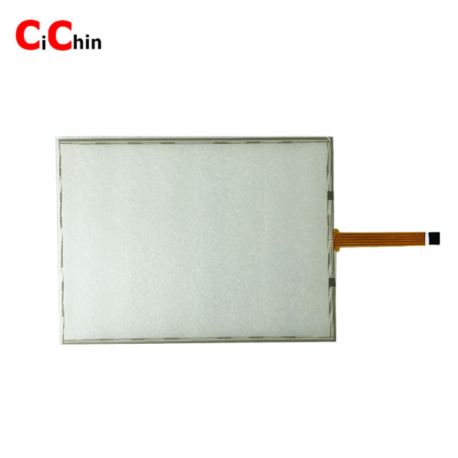 12.1 inch 5 wire resistive touch screen panel, usb/rs 232 interface