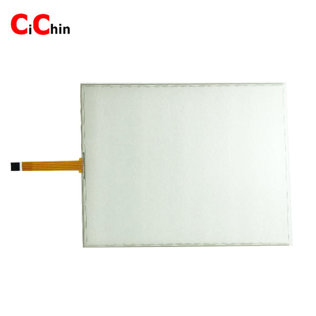 15 inch 5 wire resistive touch panel screen, wide touch screen, cheap industrial touch screen