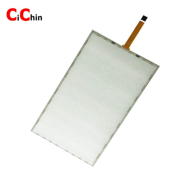 15.4 inch 5 wire resistive touch screen panel, popular touch screen