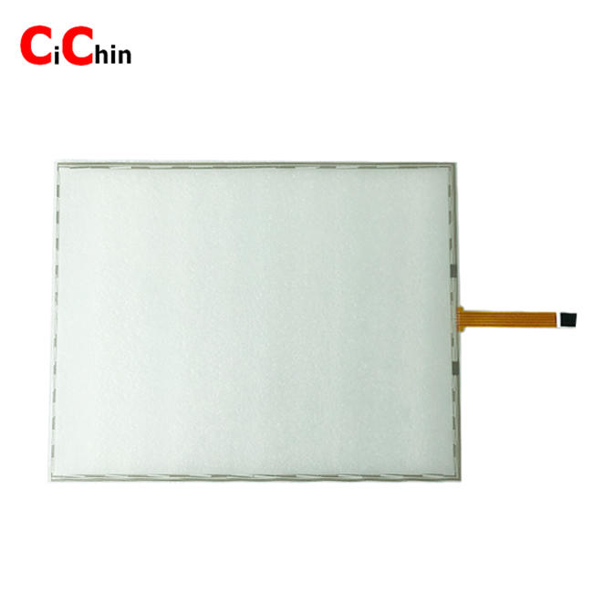 17 inch 5 wire resistive touch screen, cheap big size resistive touch screen