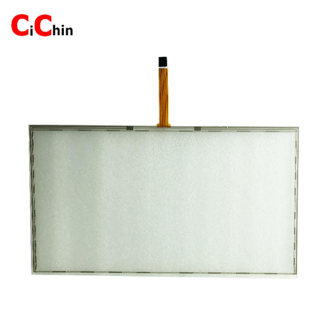 18.5 inch 5 wire resistive touch screen overlay, USB/RS232 interface, cheap huge touch screen