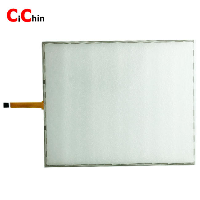 19 inch 5 wire resistive touch screen panel, cheap monitor touch screen