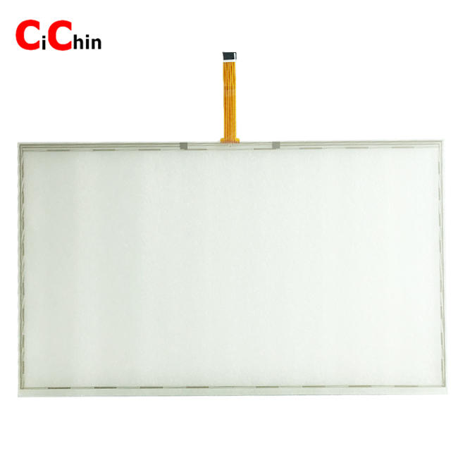 21.5 inch 5 wire resistive menbrane,  21.5 inch 5 wire resistive touch film, monitor touch overlay kits