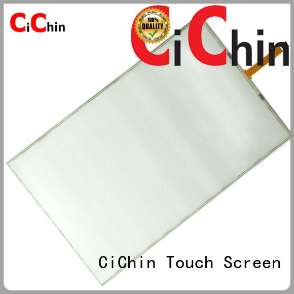 CiChin latest touch panel series used in financial industry