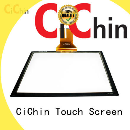 custom small capacitive touch screen supplier for interactive display system