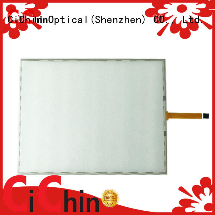 CiChin latest resistive touch panel factory direct supply for safety and security lines