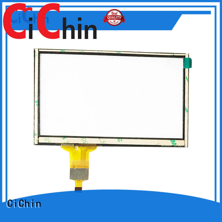 CiChin tempered glass touch screen best manufacturer used in financial industry