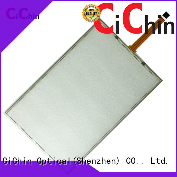CiChin low-cost resistive touch screen panel with good price used in consumer electronics