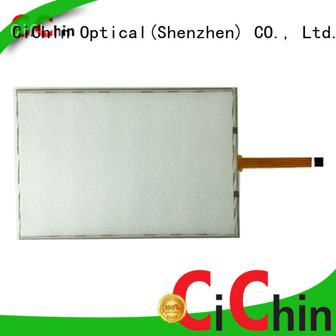 latest lcd touch screen supply used in financial industry