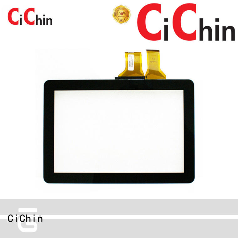 CiChin worldwide capacitive touch screen module for business used in financial industry